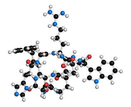 Melanotan II synthetic tanning drug