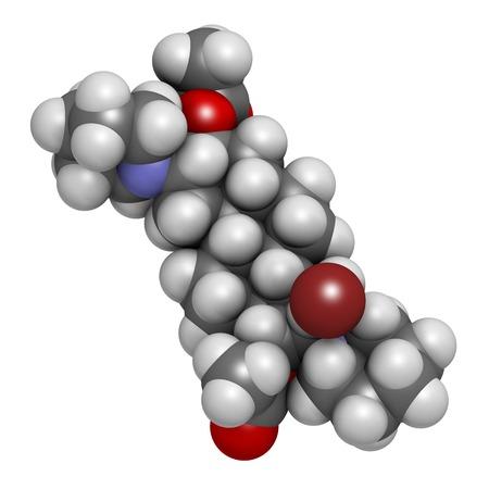 Vecuronium bromide muscle relaxant LANG_EVOIMAGES