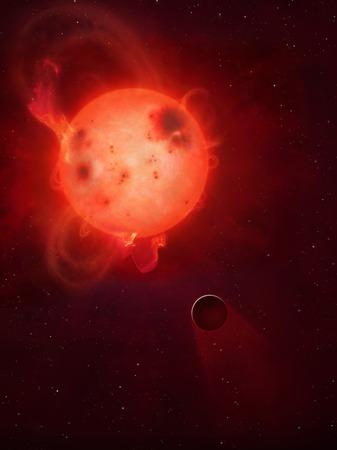 earthlike: Kepler 438b is an Earth-like extrasolar planet orbiting the star Kepler 438, some 470 lightyears away in Lyra