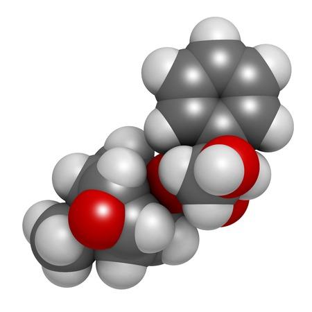 Scopolamine anticholinergic drug molecule