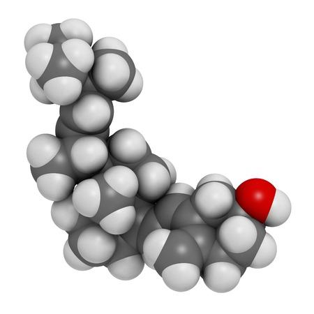 Vitamin D2 molecule