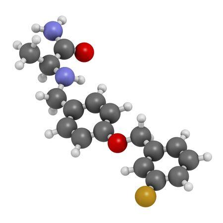 oxidase: Safinamide Parkinsons disease drug
