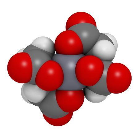 Calcium edetate drug molecule