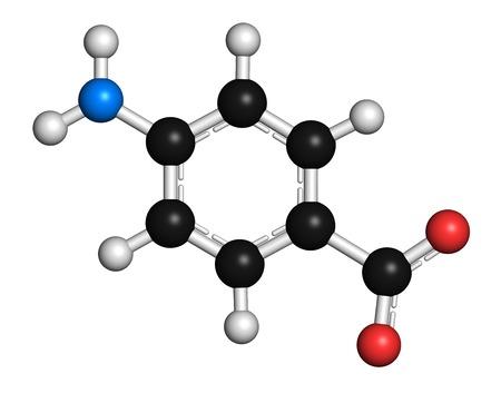 paba: Para-aminobenzoic molecule