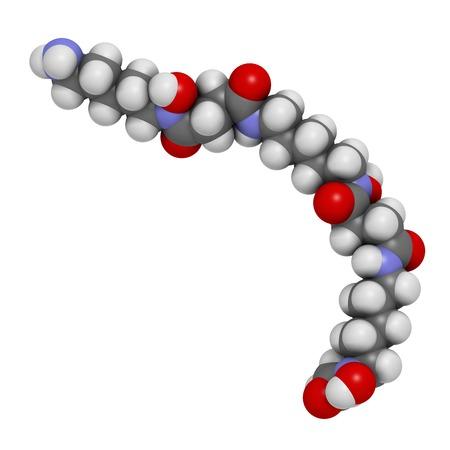 Deferoxamine drug molecule