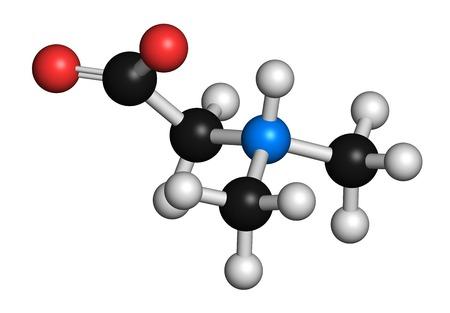Dimethylglycine molecule