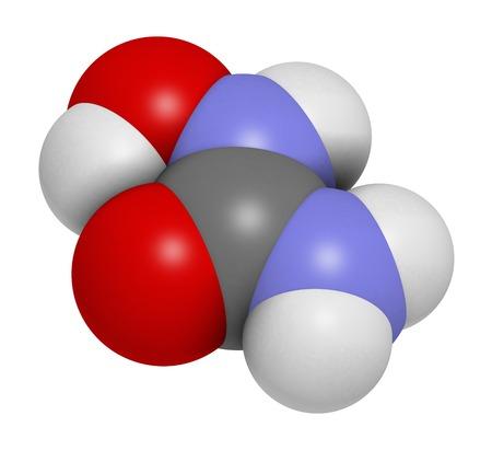 Hydroxycarbamide cancer drug molecule