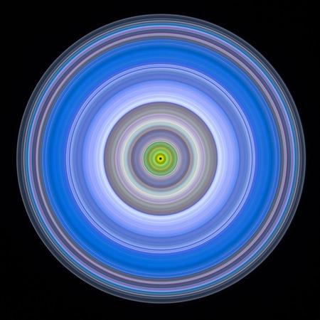 Multicoloured circles, illustration