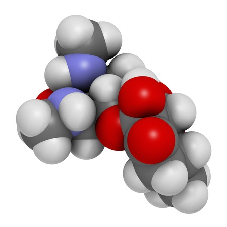 Spectinomycin gonorrhoea drug molecule