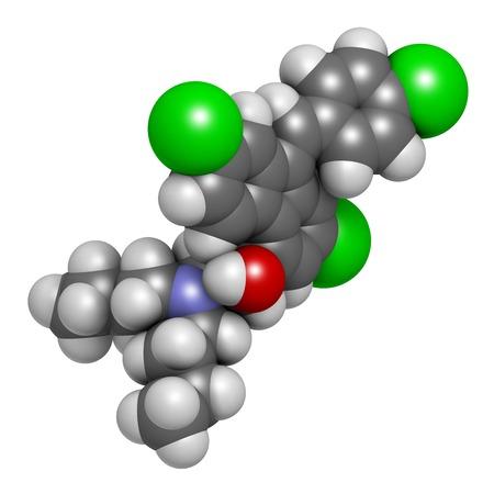 Lumefantrine antimalarial molecule