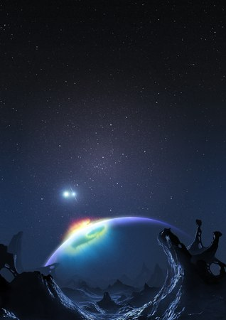 genesis: Artwork of Methuselah, the Genesis Planet