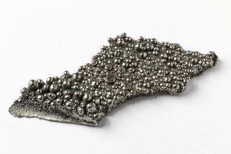 Macrophotograph of high purity cobalt