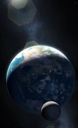 australasia: Earth at Night - Australasia LANG_EVOIMAGES