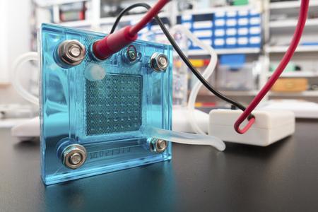 hidrógeno: Hydrogen fuel cell
