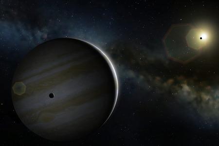 io: Artwork of Planet Jupiter