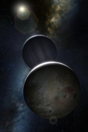 io: Artwork of Jovian Moon Io