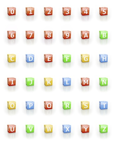 u k: Numbers and letters