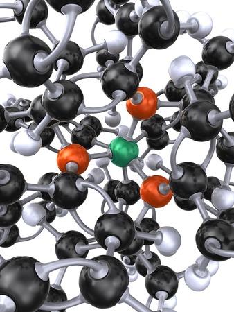 Tetrakis palladium molecule LANG_EVOIMAGES