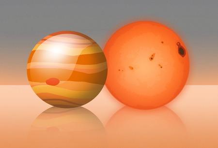 habitable: Trappist-1 Compared to Jupiter