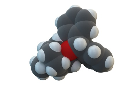 anticholinergic: Benztropine drug molecule LANG_EVOIMAGES