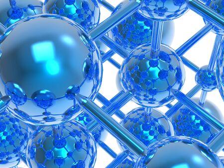 connecting rod: Molecule, artwork