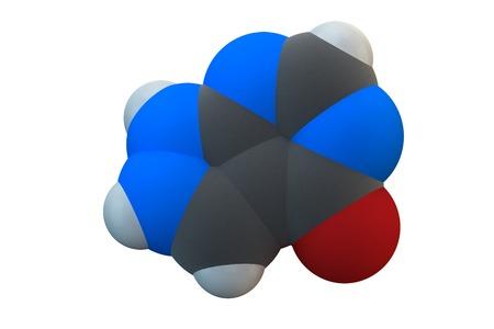 oxidase: Allopurinol gout drug molecule