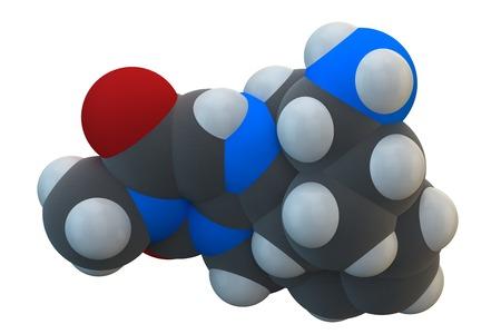 Alogliptin diabetes drug molecule LANG_EVOIMAGES