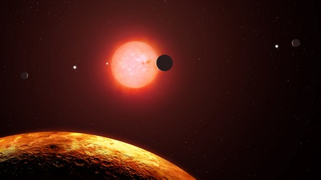 habitable: The View from Trappist-1f LANG_EVOIMAGES