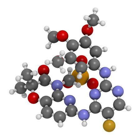 Fostamatinib rheumatoid arthritis drug LANG_EVOIMAGES
