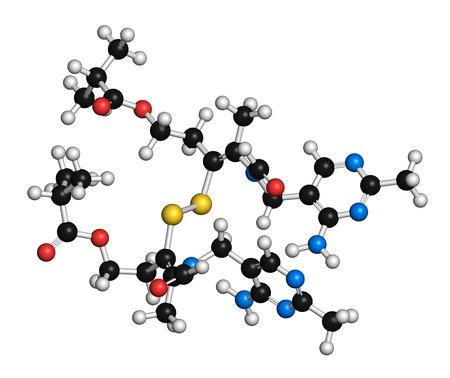 dimer: Sulbutiamine asthenia drug molecule