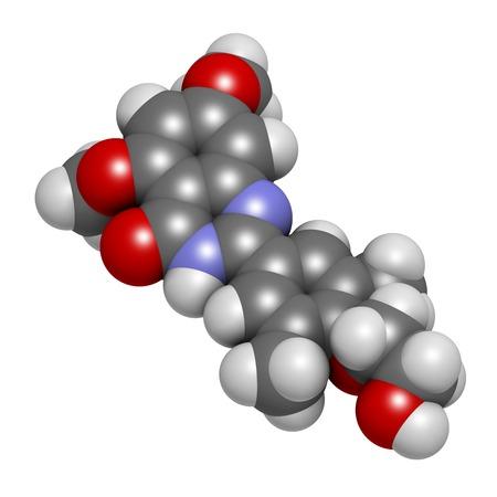 additional chemicals: Apabetalone atherosclerosis drug molecule LANG_EVOIMAGES