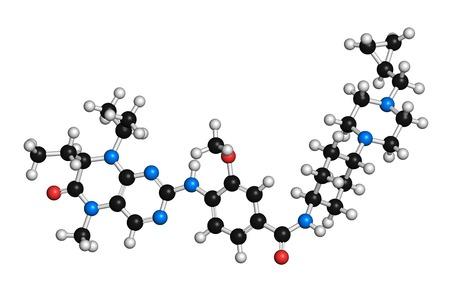 aml: Volasertib cancer drug molecule LANG_EVOIMAGES