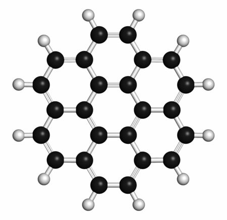 hydrocarbon: Coronene polyaromatic hydrocarbon