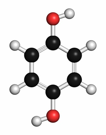 Hydroquinone reducing agent molecule LANG_EVOIMAGES