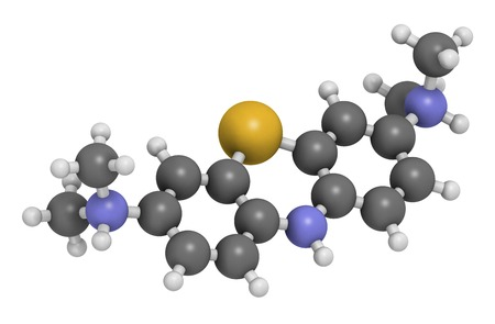 LMTX Alzheimers drug molecule LANG_EVOIMAGES