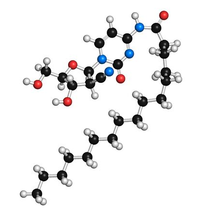 aml: Sapacitabine cancer drug molecule LANG_EVOIMAGES