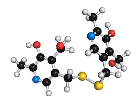 Pyritinol cognitive disorder drug molecule