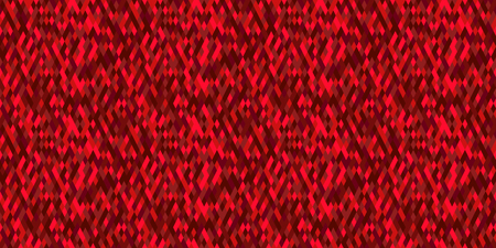 ruby: Red abstract background, vector. Polygon texture. Seamless geometric pattern Illustration