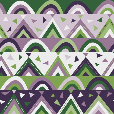 Vector geometric texture for kids. Good for childrens room decor, fabric print, surface decor and more Ilustrace