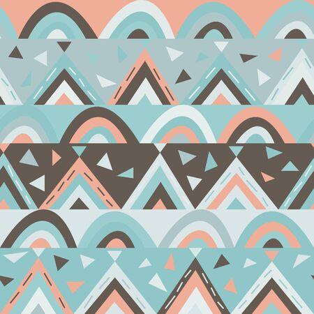 seamless geometric pattern for kids