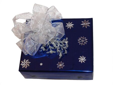 Very luxury wrapping gift Stock Photo