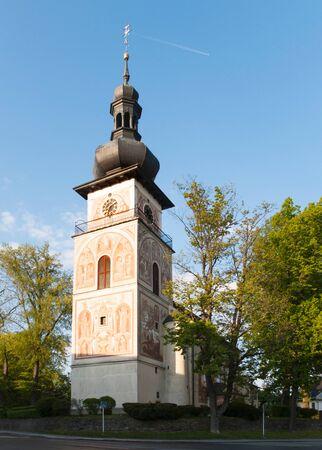 Catholic Church of Saint Cunigunde in Nove Mesto na Morave, Czech republic