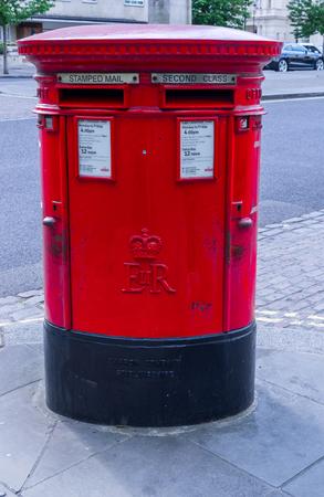 London postal box