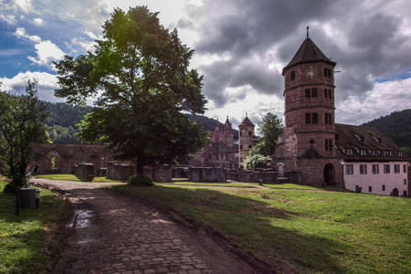 cloister: cloister calw in black forest germany
