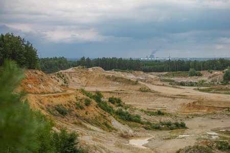 sand pit: Sand pit in upper lusatia