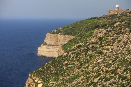 nato summit: Sphere radar at Malta, Dingli-Cliffs
