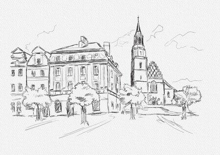 Artwork Boleslawiec, Dolnoslaskie Poland 写真素材