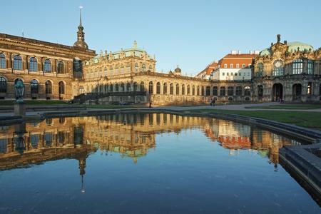 Dresden, Zwinger museum Editorial