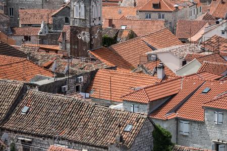 Trogir town Croatia Banco de Imagens