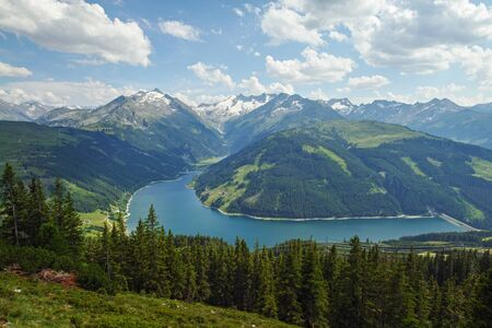 Lake Durlassboden, in GerlosZillertal Austria